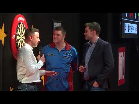 ON THE WIRE! Champion Daryl Gurney after his first European Tour win