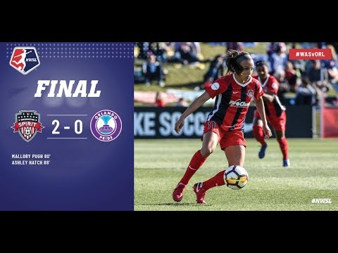 Highlights: Washington Spirit vs. Orlando Pride | March 31, 2018