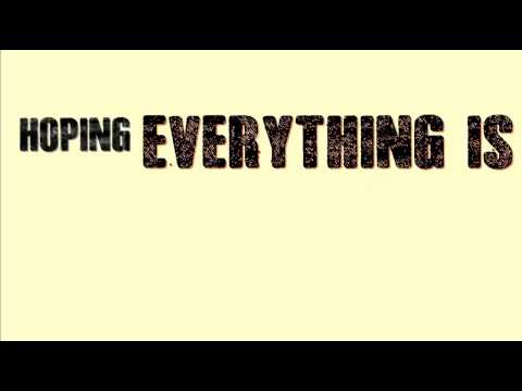 Everything's Not Lost - Coldplay (lyrics on screen)