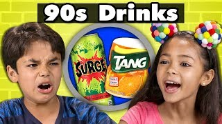 KIDS TRY 90s SNACKS! | Kids Vs. Food
