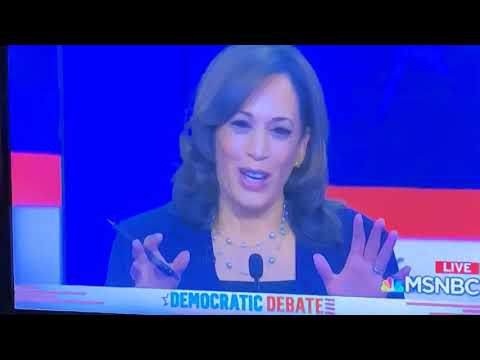 """Kamela Harris: """"America Didn't Come To Watch A Food Fight, They Want To Put Food On The Table"""""""