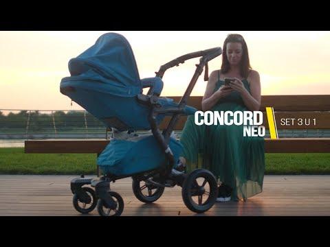 Concord Neo Travel Kolica 3 U 1 - Iskustvo