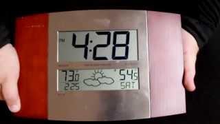 Ws-8158u-it Atomic Digital Wall Clock