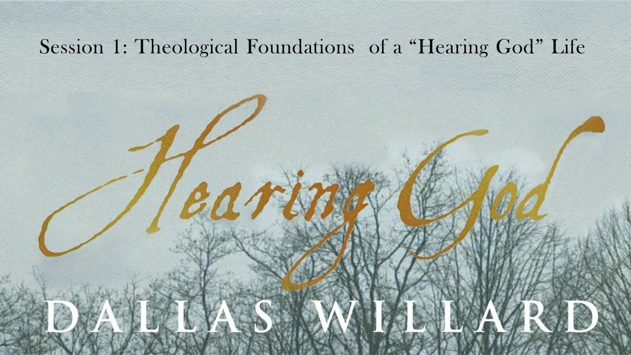 """Download Dallas Willard - Hearing God Retreat session 1 - Theological Foundations of the """"Hearing God"""" Life."""
