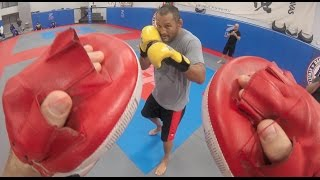 Get the perspective of what it would be like to step in ring with dan henderson without getting punched. website: http://www.mmaweekly.com/subscribe on y...