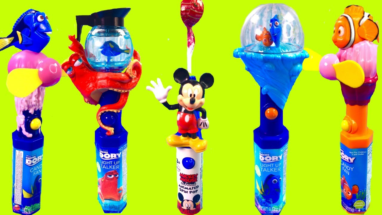 Disney Finding Dory  U0026 Mickey Mouse Magical Light Up