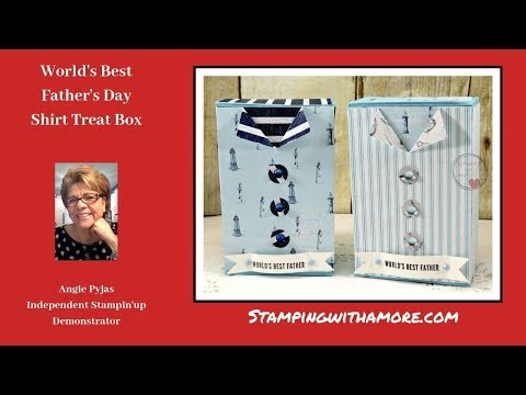 World's Best Father's Day Shirt Treat Box