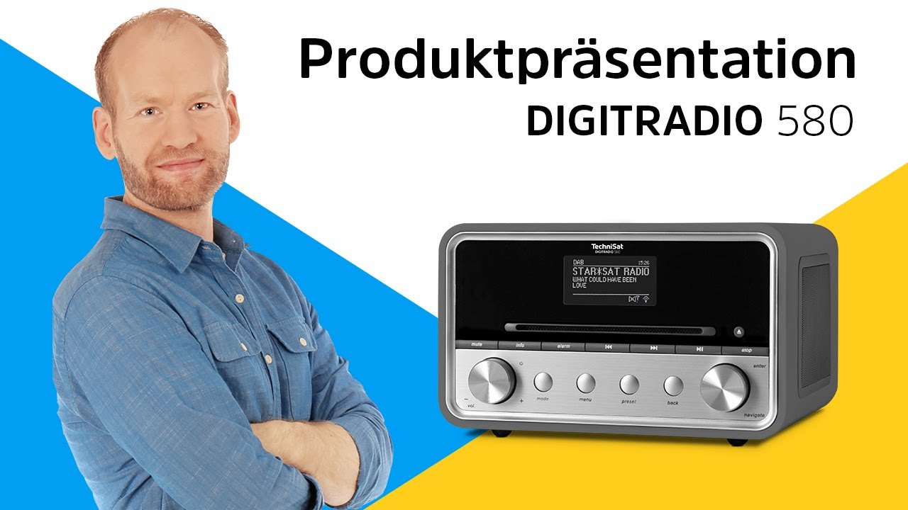 Video: DIGITRADIO 580 | Leistungsstarkes Hybridradio mit Spotify-Anbindung. | TechniSat