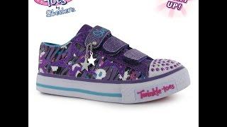 Обзор Детские кроссовки Skechers Twinkle Toes Glitter Shuffle Child Girls Shoes