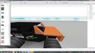 how to make a monster truck on roblox + how to publish itl