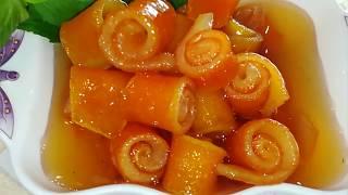 Как приготовить варенье из апельсиновых корочек вкусно