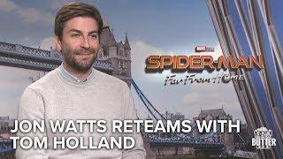 Spider-Man: Far From Home | Jon Watts talks Directing Tom Holland | Extra Butter