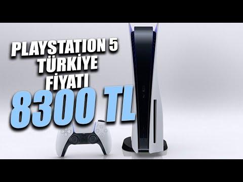 PLAYSTATION 5 TÜRKİYE FİYATI AÇIKLANDI: 8300 TL! (üstelik bu ucuz hali)