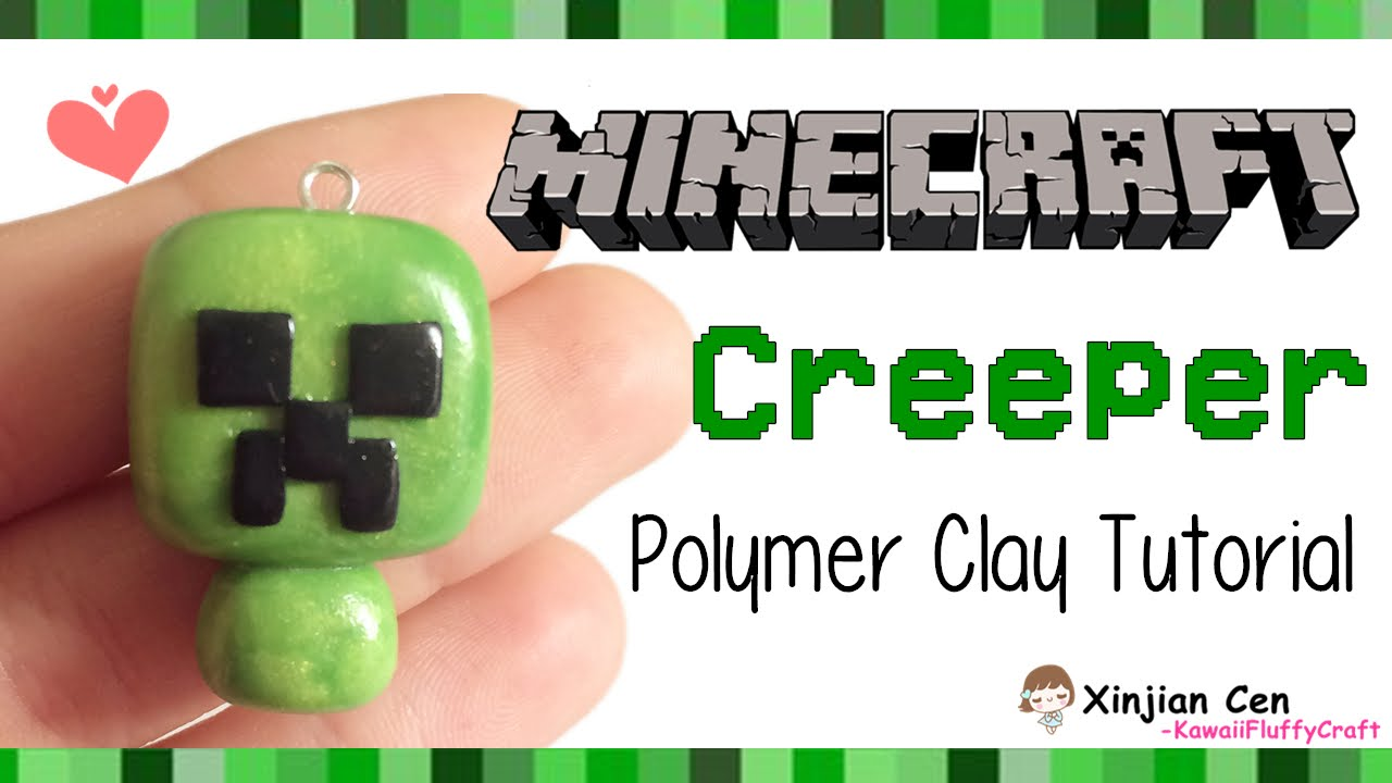 Minecraft chibi creeper polymer clay tutorial youtube minecraft chibi creeper polymer clay tutorial baditri Images