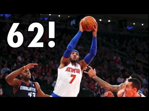 Carmelo Anthony Scores 62 Points! Give Him a Break! - #JRWisdom