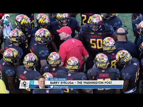 Washington Post's Barry Svrluga on Possible DJ Durkin Protests at Maryland | The Rich Eisen Show