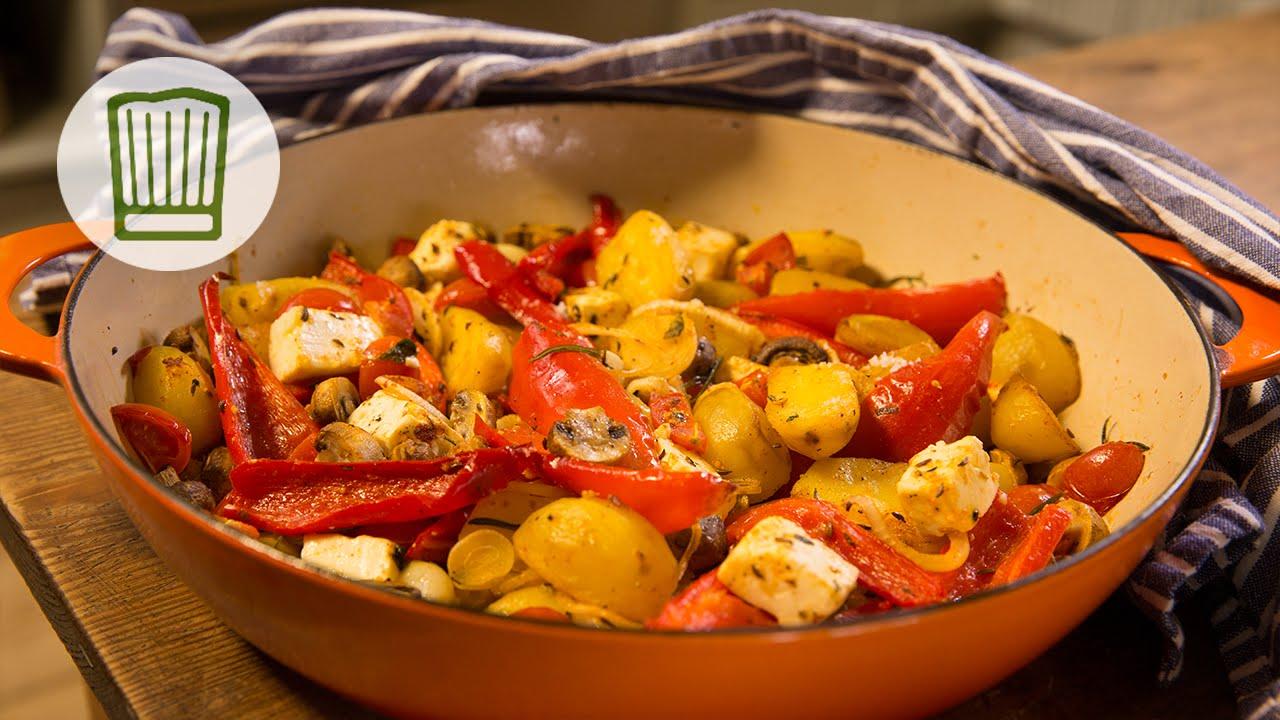 Mediterranes Ofengemüse - Italienische Resteverwertung Rezept #chefkoch