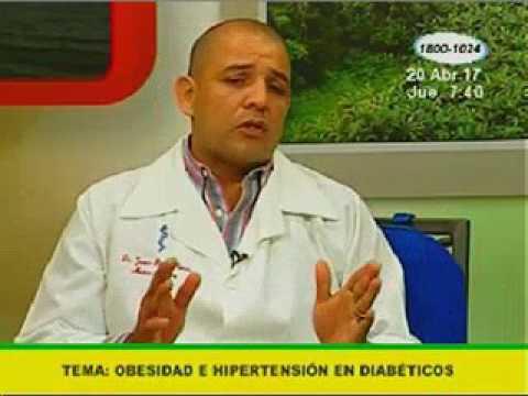Obesidad e hipertensión en diabéticos - YouTube
