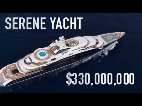 Serene Yacht For Charter 330 000 000 How Much