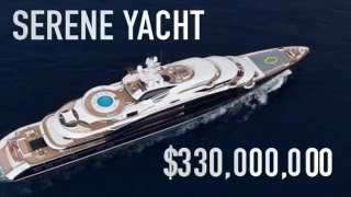 SERENE YACHT FOR CHARTER  - $330,000,000 - How Much?