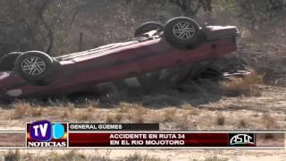 Nuevo Accidente sobre Ruta Nacional 34 - 07-10-2015