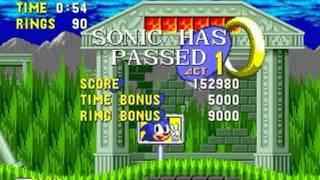 Sonic the Hedgehog Mega Blitz Alpha (Genesis) - Walkthrough