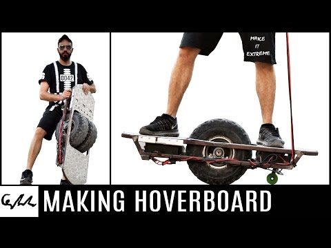 Making a hoverboard from Junk