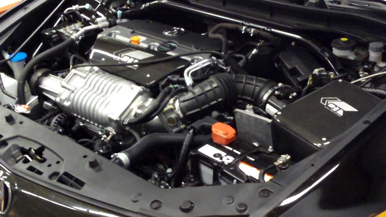 TSX CT ENGINEERING SUPERCHARGED YouTube - Acura rsx supercharger