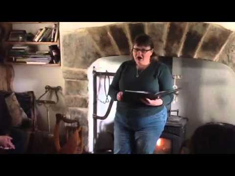 Bee Smith reads a poem inspired by the Giant's Leap in Cava