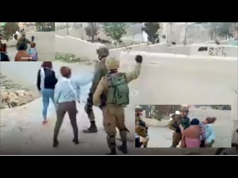 Palestinian Girl Arrested After Slapping A Soldier