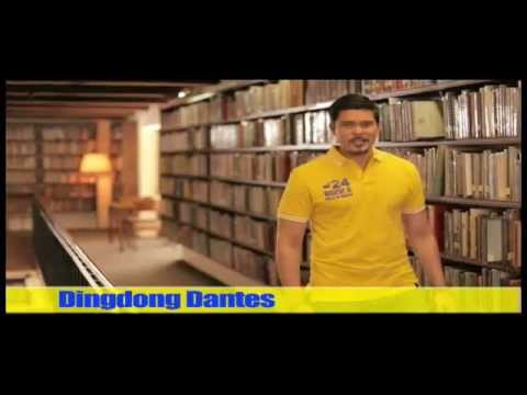 Ramon Magsaysay Jr with Ser Chief and Dingdong Dantes TV ...