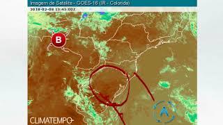 Volta a chover no Sul do Brasil