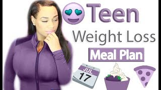 Teen Weight Loss Meal Plan
