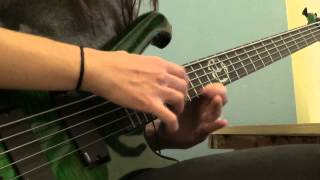 Suffocation - Cycles of Suffering (BASS COVER)