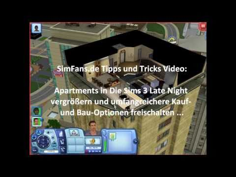 Sims 3 Late Night Cheat Apartments
