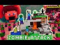 LEGO Minecraft ZOMBIE CAVE ISLAND Zombie Attack!!! Unboxing