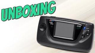 UNBOXING   Sega Gąme Gear [German]
