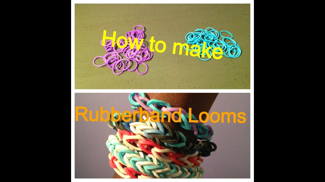 how to make rubber band bracelets without loom kit youtube