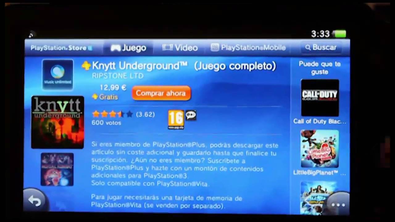 Ps Vita Juegos Gratis Playstation Plus Europa Youtube