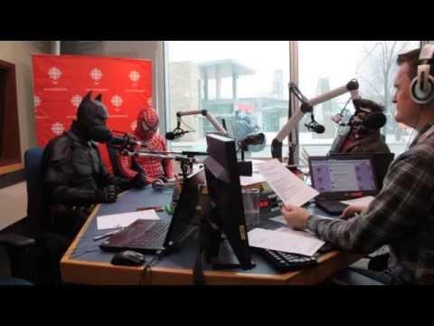 CBC Radio Studio live broadcast