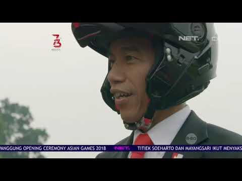 Wow!! Video Jokowi Mengendarai Motor Ke GBK Tembus 954 Ribu Views