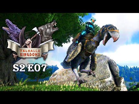 ARK: VALHALLA KINGDOMS ♛ [S02E07] - Quetzal fail & Terror Bird blödsinn [Deutsch | Epic Graphic]