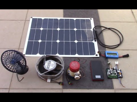 DIY Solar DC Direct without battery !!! The 3 common methods.