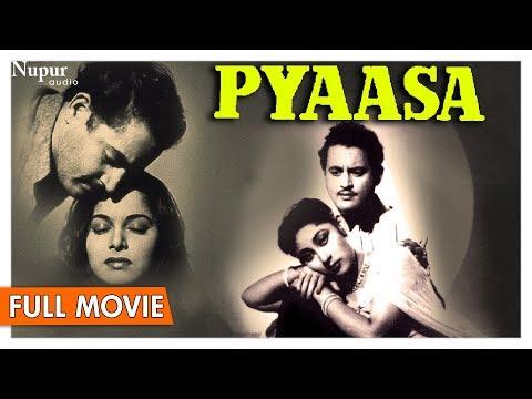 Pyaasa 1957 Full Movie   Guru Dutt , Mala Sinha, Waheeda Rehman   Bollywood Classic Movies