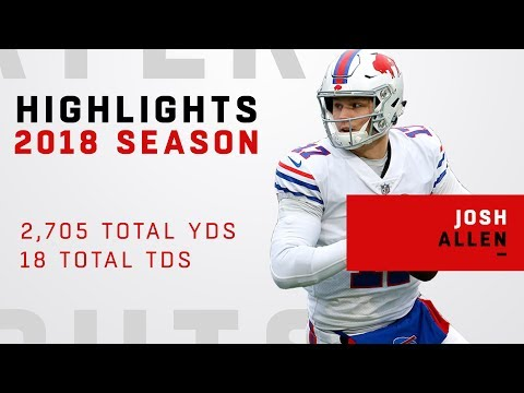 Josh Allen's FULL Rookie Highlights in 2018!