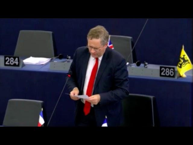 Gilles Lebreton sur l'intégration des Roms dans l'UE