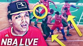 NBA LIVE 19 GAMEPLAY ACHIEVED THE IMPOSSIBLE?!? LIVE 19 vs. 2K19 GAMEPLAY...