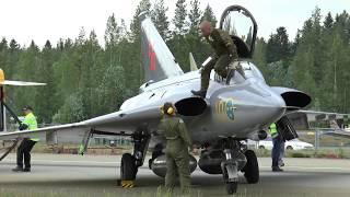 Saab Draken at Finland