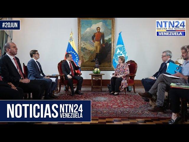 Noticias NTN24ve #20Jun