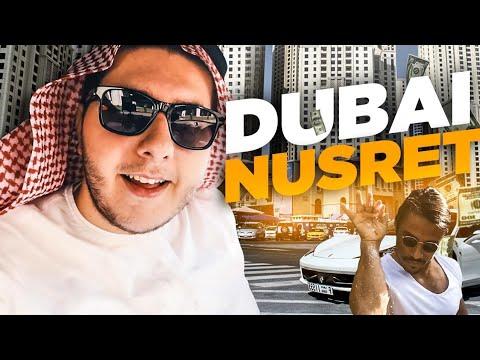 Arap Kıyafetleriyle Dubai Nusret'e Gitmek (Patrona Hesap Kitledim) #saltbae